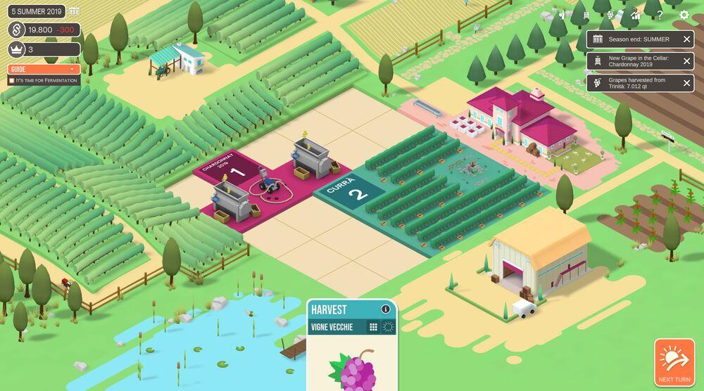 Game image Hundred Days Winemaking Simulator