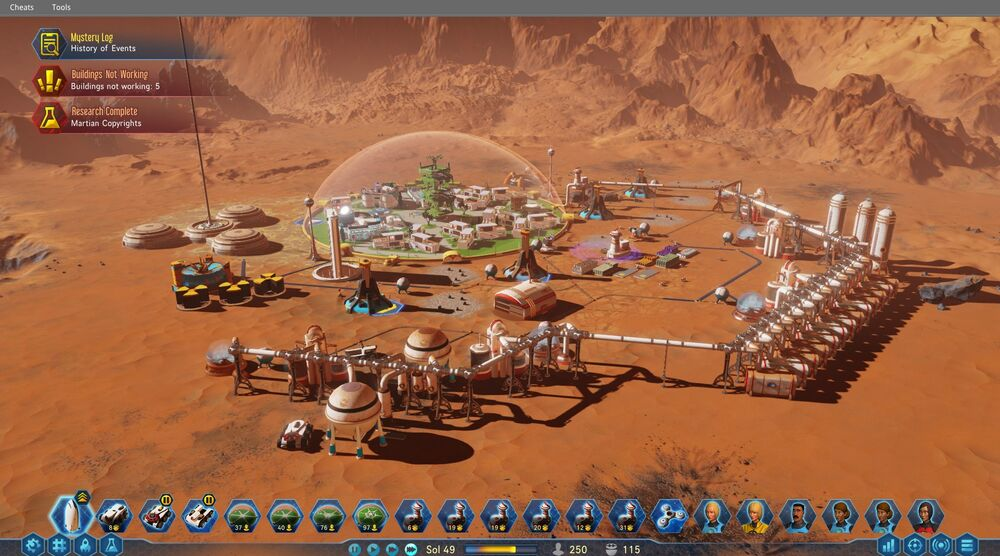 Game image Surviving Mars