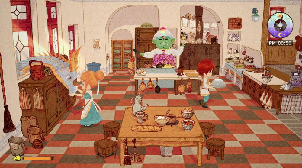 Game image Little Dragons Caf