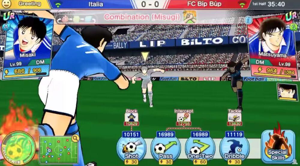 Game image Captain Tsubasa Dream Team