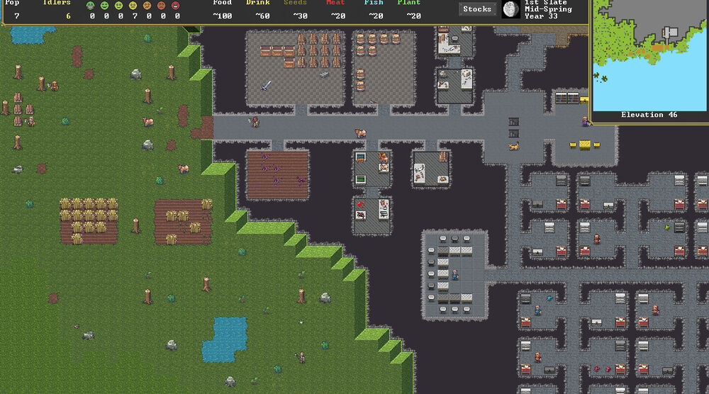 Game image Dwarf Fortress