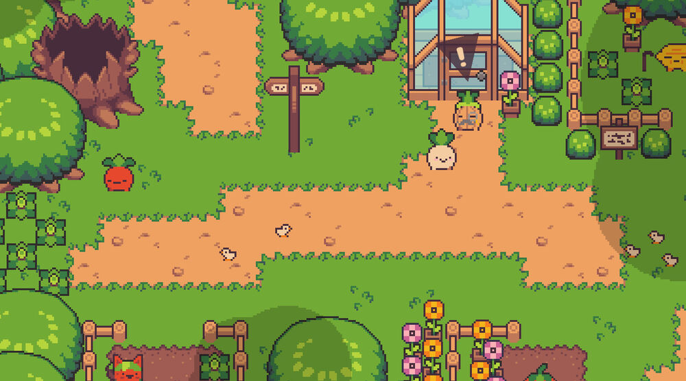 Game image Turnip Boy Commits Tax Evasion