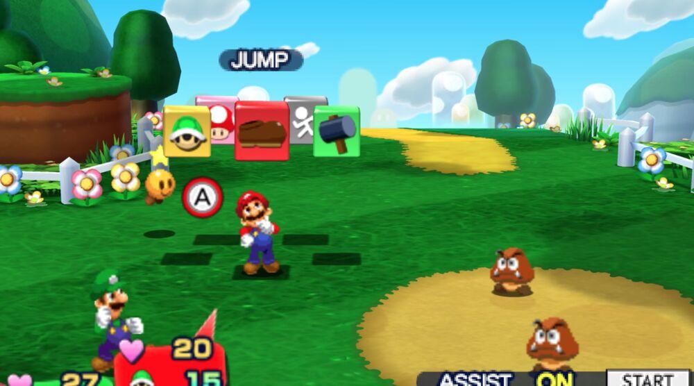 Game image Mario Luigi