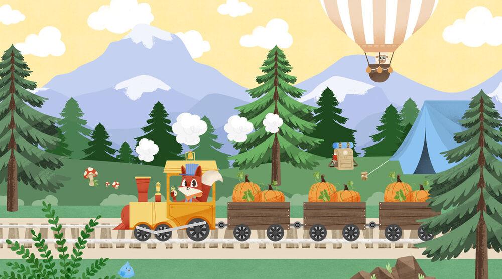 Game image Little Fox Train Adventures