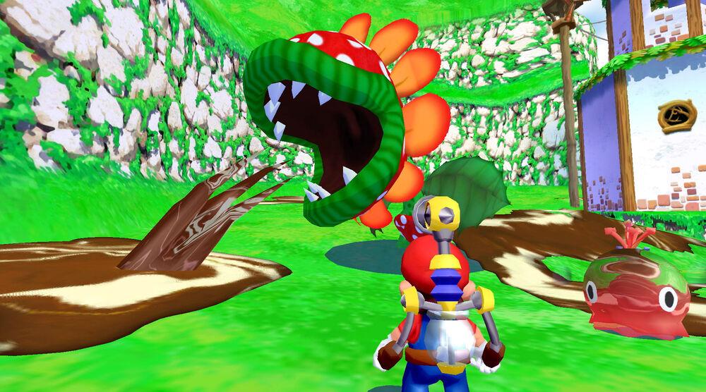 Game image Super Mario Sunshine