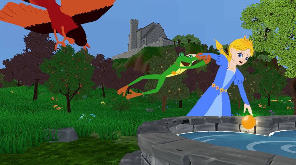 Game image Frogs Princess