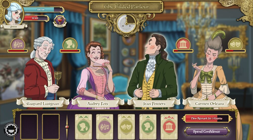 Game image Ambition A Minuet in Power