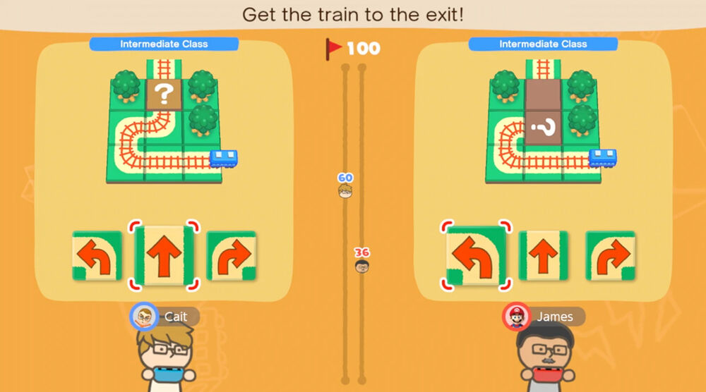 Game image Big Brain Academy Brain vs Brain