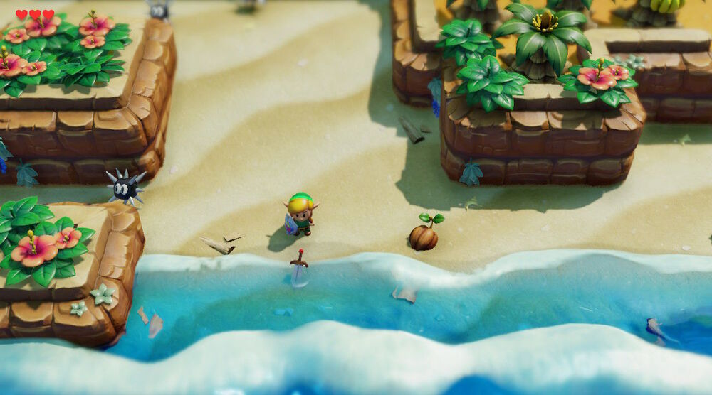Game image The Legend of Zelda Links Awakening