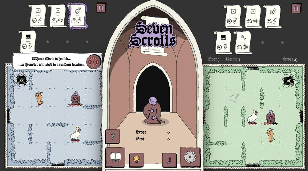 Game image Seven Scrolls