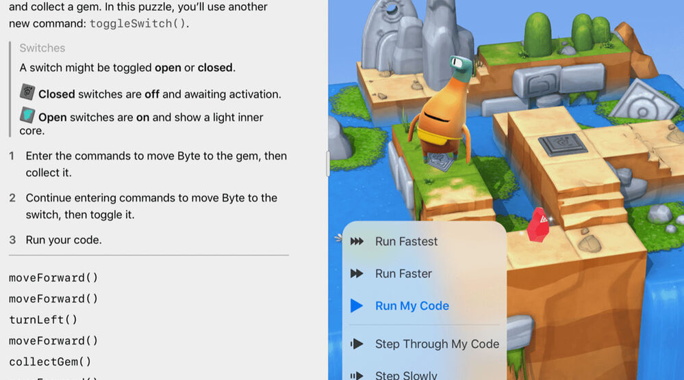Game image Swift Playgrounds