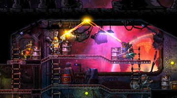 Game image Steamworld Heist