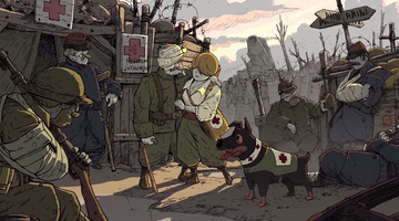 Game image Valiant Hearts The Great War