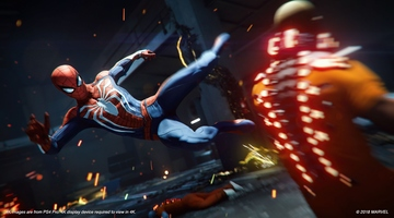 Game image Marvels SpiderMan