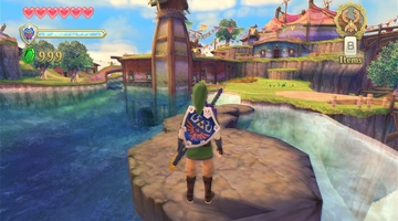 Game image The Legend of Zelda Skyward Sword