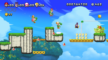 Game image New Super Mario Bros U