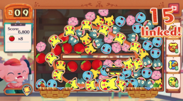 Game image Pokmon Cafe Mix