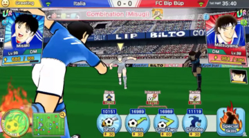 Game image Captain Tsubasa Dream Team
