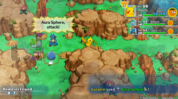 Game image Pokmon Mystery Dungeon