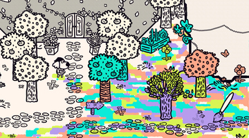 Game image Chicory A Colorful Tale