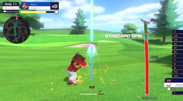 Game image Mario Golf Super Rush