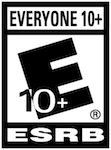 ESRB Rating EVERYONE 10+ for Spaceland