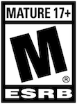 ESRB Rating MATURE 17+ for Grand Theft Auto